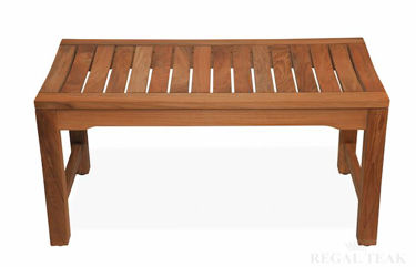 Picture of Teak Rosemont Backless Bench 36in
