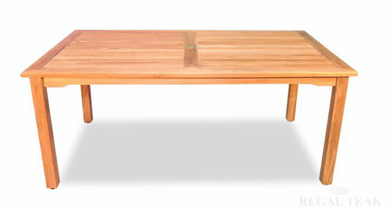 Picture of Teak Harvest rectangular Table 40in X 70in