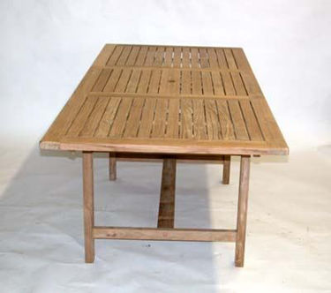 Picture of Teak Rectangular Extension Table Medium