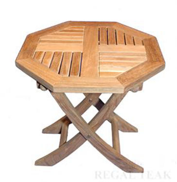 Picture of Small Octagon Folding Table