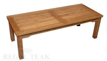 Picture of Teak Mission Coffee Table Large 47in L X 19.5in D X 16in H