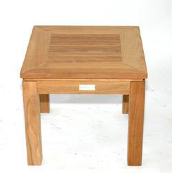 Picture of Teak Square End Table 6061