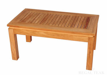 Picture of Teak Rectangular Coffee Table 6062