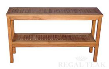 Picture of Teak Buffet Sideboard 60in X 15in X 34.5in H
