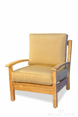 Picture of Teak Deep Seating Club Chair