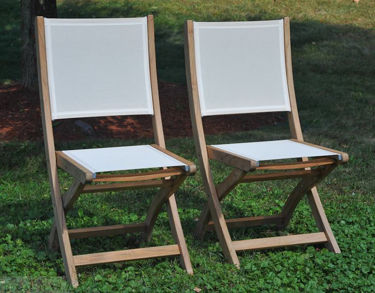 Picture of Teak Providence chair no arm Cream