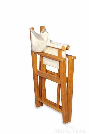 Picture of Teak Directors Chair - Sunbrella fabric