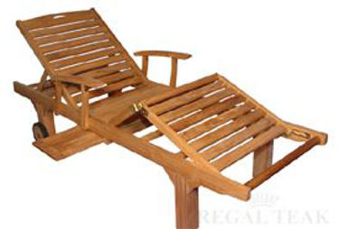 Picture of Sunlounger with arms