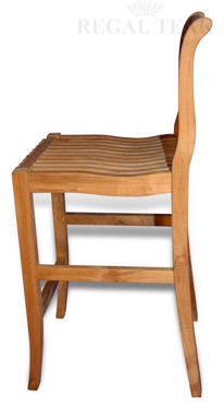 Picture of Teak Bar Chair