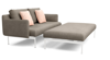 LAYOUT DEEP SEATING DOUBLE SEAT